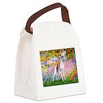 Garden / Ital Greyhound Canvas Lunch Bag