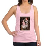 Ophelia / Italian Greyhound Racerback Tank Top