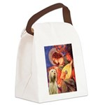 Mandolin Angel /Italian Spino Canvas Lunch Bag