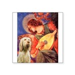 Mandolin Angel /Italian Spino Square Sticker 3