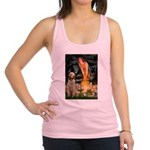 Fairies/ Italian Spinone Racerback Tank Top