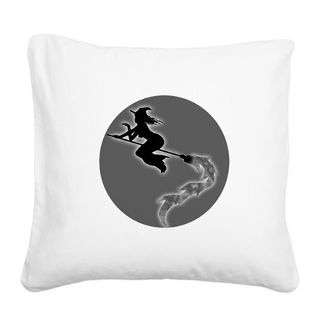 witch6.png Square Canvas Pillow