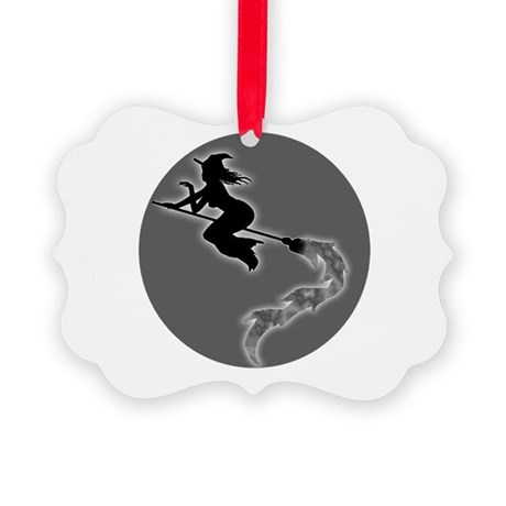 witch6.png Picture Ornament