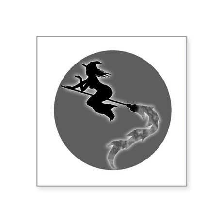 "witch6.png Square Sticker 3"" x 3"""