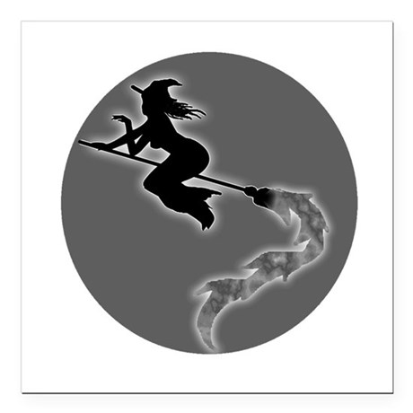 "witch6.png Square Car Magnet 3"" x 3"""