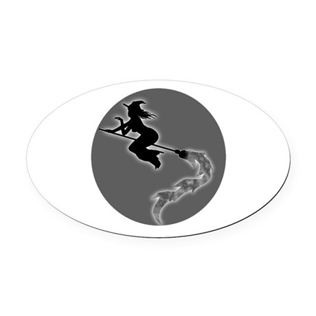 witch6.png Oval Car Magnet