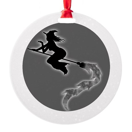 witch6.png Round Ornament