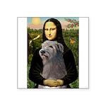Mona / Irish Wolf Square Sticker 3