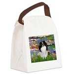 Lilies (#2)/Japanese Chin Canvas Lunch Bag