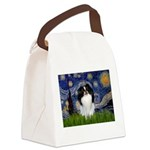 Starry/Japanese Chin Canvas Lunch Bag