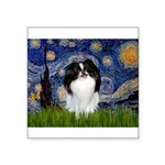 Starry/Japanese Chin Square Sticker 3