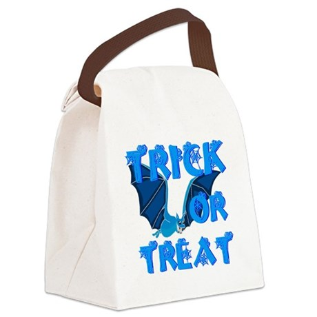 bat4a.png Canvas Lunch Bag