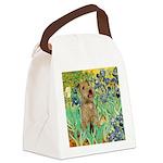 Lakeland T. & Irises Canvas Lunch Bag