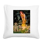 Midsummer's Eve Lakeland T. Square Canvas Pillow