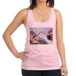 Creation / Lhasa Apso Racerback Tank Top