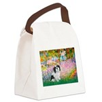 Garden / Lhasa Apso #2 Canvas Lunch Bag