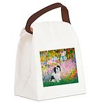 Garden / Lhasa Apso #2 Canvas Lunch Bag
