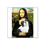 Mona / Lhasa Apso #2 Square Sticker 3