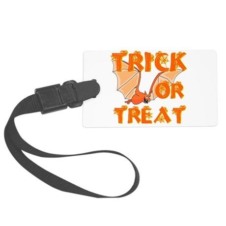 bat4.png Large Luggage Tag