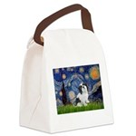 Starry / Lhasa Apso #2 Canvas Lunch Bag