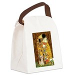 Kiss / Lhasa Apso #4 Canvas Lunch Bag