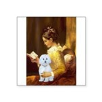 Reading / Maltese Square Sticker 3