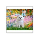 Garden / Maltese Square Sticker 3