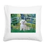 Bridge / Maltese Square Canvas Pillow