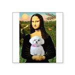 Mona's Maltese (R) Square Sticker 3