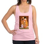 The Kiss / Maltese Racerback Tank Top
