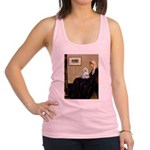 Whistler's Mother Maltese Racerback Tank Top