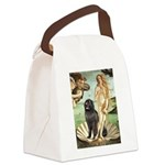 Venus & Newfoundland Canvas Lunch Bag