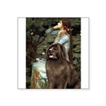 Ophelia / Newfoundland Square Sticker 3