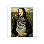 Mona / Nor Elkhound Square Sticker 3
