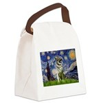 Starry / Nor Elkhound Canvas Lunch Bag