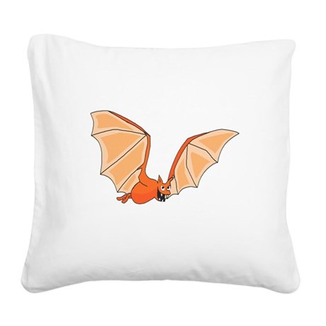 bat3.png Square Canvas Pillow