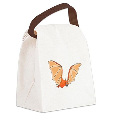bat3.png Canvas Lunch Bag
