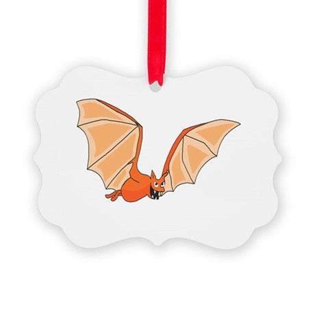 bat3.png Picture Ornament