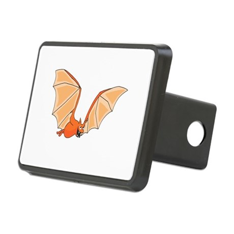 bat3.png Rectangular Hitch Cover