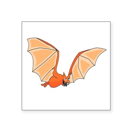 "bat3.png Square Sticker 3"" x 3"""