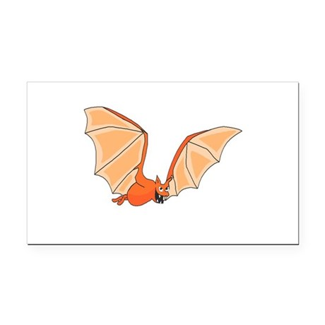 bat3.png Rectangle Car Magnet
