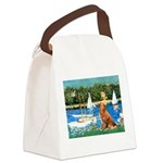 Sailboats / Nova Scotia Canvas Lunch Bag