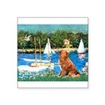 Sailboats / Nova Scotia Square Sticker 3