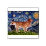 Starry / Nova Scotia Square Sticker 3