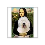 Mona's Old English Sheepdog Square Sticker 3