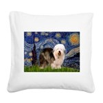 Starry / OES Square Canvas Pillow