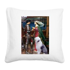 Tristan / OES Square Canvas Pillow