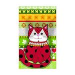Mona's Papillon 5.25 x 5.25 Flat Cards