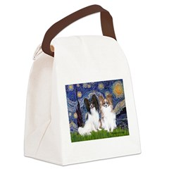 Starry / 2 Papillons Canvas Lunch Bag