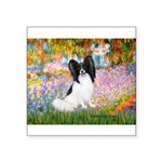 Garden & Papillon Square Sticker 3